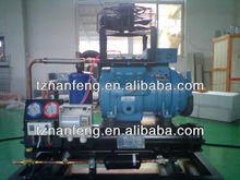 15hp,20P,25hp,30hp semi-hermetic air cooled screw chillers with bitzer and dorin compressor