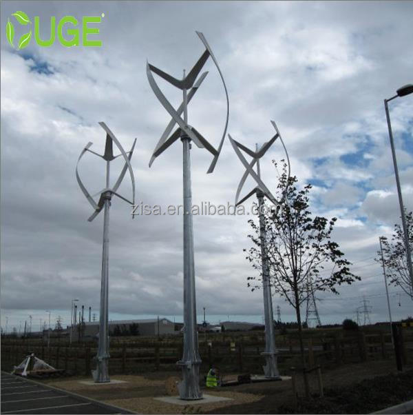 1KW 48V or 96V AC Three Phase Wind Power Turbine Generator