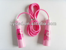 High quality kids size PVC jump rope/skipping rope