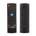 2.4G Wireless Keyboard+IR Remote Control 2.Gyroscope+G-sensor fly mouse
