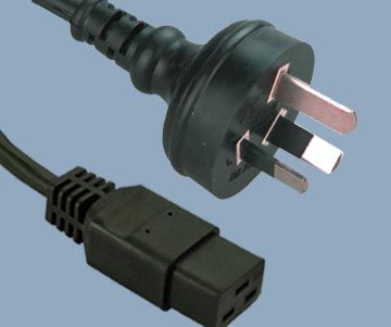 IEC C19 to Australia Power Supply Cord