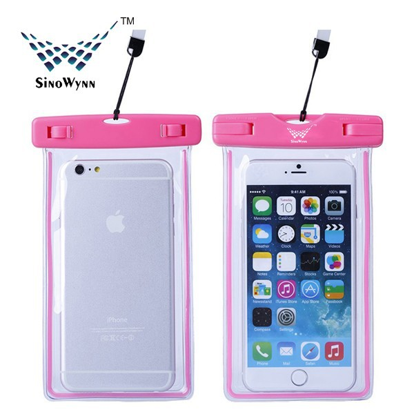 Universal Luminous Mobile Phone PVC Waterproof Bag