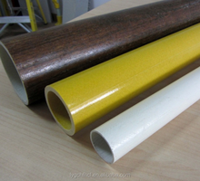Insulation Glass Fiber Round Tube, Pultruded Fiberglass Tube