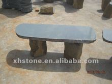 outdoor Stone long bench for double seat