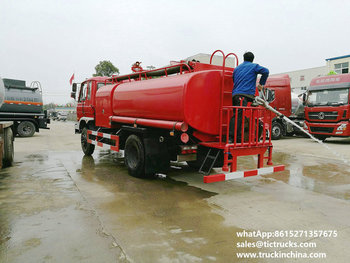 water tank lorry 1600Gallon export to YANGON,MYANMAR fire truck