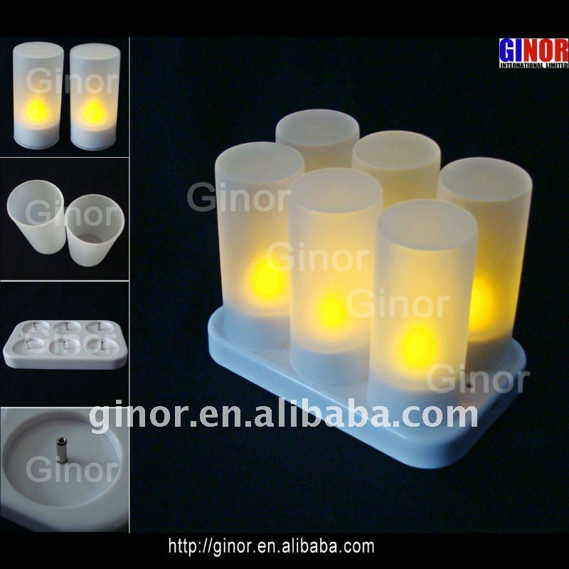 rechargeable electric candles