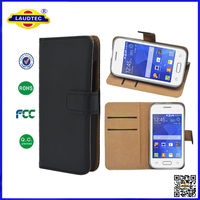 for galaxy star 2 leather flip wallet cover case,phone case for samsung laudtec