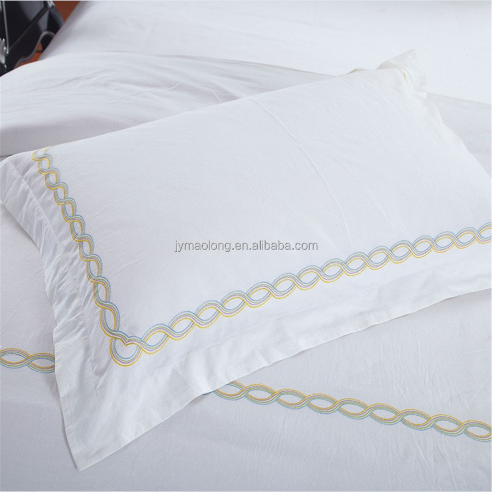 233TC 100% Cotton Down-proof Vapor Emission Fabric Pillowcase