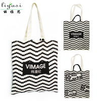 All Over Printing Cloth Promotion Canvas Tote Bag