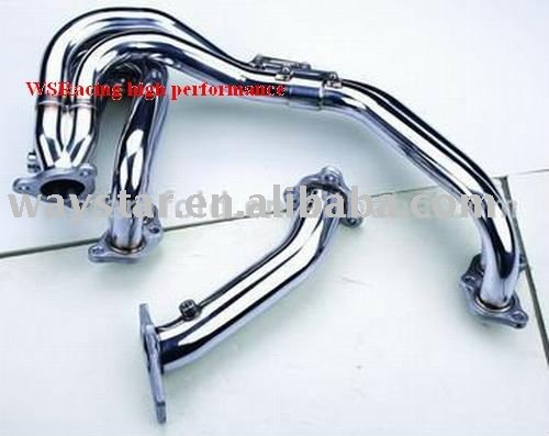 header manifold downpipe for subaru 01+