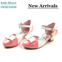 Manufacture 2014 t Korea hot-selling fashion girls dress high heel shoes size 3
