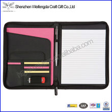 Fashion A4 Model Leather Portfolio Case