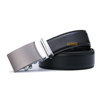 Mens Brand Leather Belts Brown Or