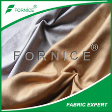polyester artificial suede for shoes material