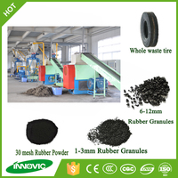 Cost of recycling tire rubber crumbs breaking machine