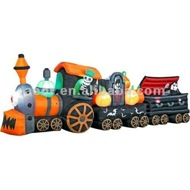 2012 Cheap Inflatable Halloween train/inflatable halloween toy