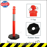 1100MM T-Top Warning Security Posts for Driveways