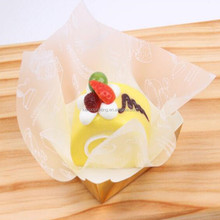 Wholesale colored vegetable function gold silver printing parchment paper for baking
