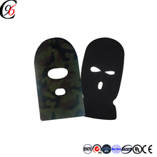 Chengxing custom crochet military training of anti-freeze and anti-freeze expansion knitted print balaclava face mask