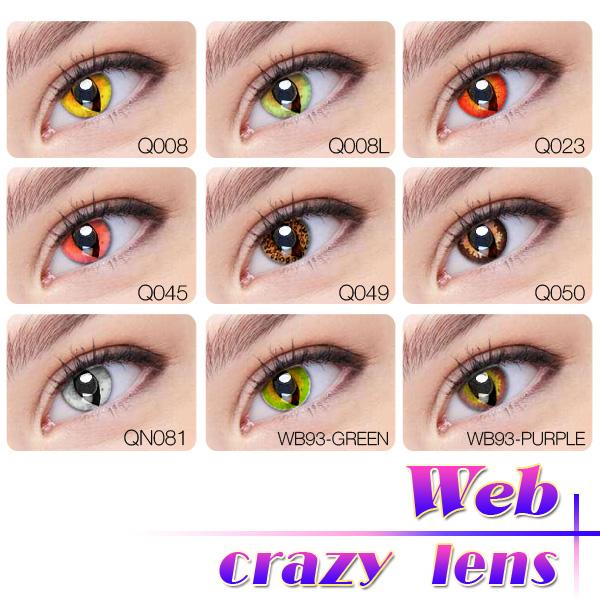 Walmart Halloween Eye Contacts | All Black Halloween Contact Eye Lens Color Contacts Cat Eye