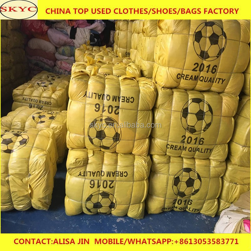 bulk wholesale Ningbo factory high quality used clothing in bales
