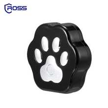 New products 2017 Eco-Friendly stocked black pet mini waterproof small animals dog cat gps tracker install on collars