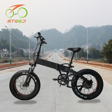 2018 new folding suspension electric bike bicycle 500w 48v made in china