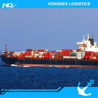 sea shipping freight cost from shanghai to hamburg