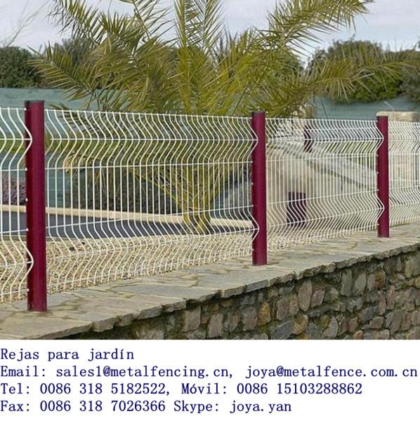 Rejas para jard n rejas de hierro para el jard n rejas for Reja para jardin vertical