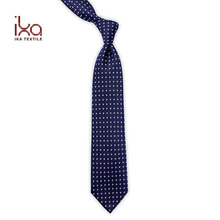 Hand Made Navy Blue Cool Private Label Korean Style Tie