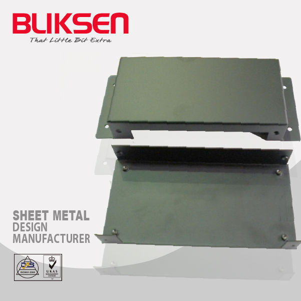 Bliksen custom laser cutting metal case aluminum fabrication