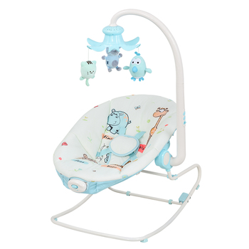 Electric Baby Rocker Bouncer Reclining Chair Soothing Music Viberation with Toys 0 Month+