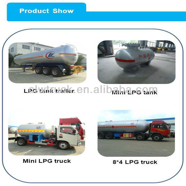 8*4 propane gas storage tank truck sold in Togo