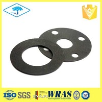 Customized rubber waterproof gasket for pipe flangers