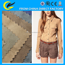 Wholesale polyester micro suede fabric for Sofa,home textile,bag,coat,shoes,etc low price