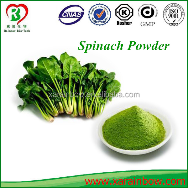 Factory Supply Fruit and Vegetable powder Spinach powder