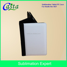 Blank Custom Case for ipad Case Sublimation for Mobile phone holster Sublimation Tablet PC holster For Kindle fire HD 7