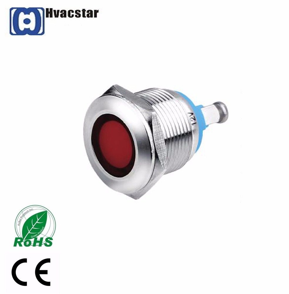 Wholesale cheap metal push button switch19mm metal signal lamp CE Rohs Certificated