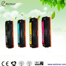 New Compatible color toner cartridge for HP CB540/541/542/543 used for hp CP1215 color laser printer