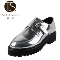 Factory Manufacture Various Slip On Flat Silvery Women Shoes Made In Italy