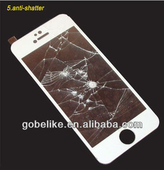 manufacture thickness 0.2mm tempered glass for iPhone5s