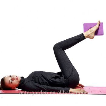 High Density Exercise Custom TPE PU Yoga Mat