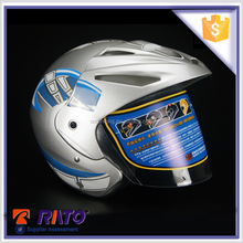 China professional casco motorcycle helmet with unique decals