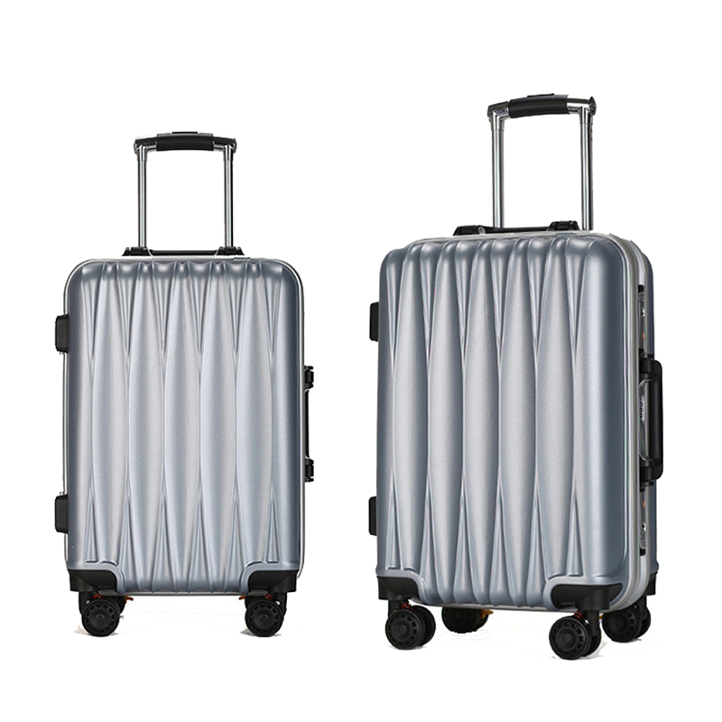20 24 inch colorful brake spinner wheels striped pc custom luggage travelling bags suitcase