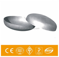 2 stainless steel fitting 4 inch sch40 pipe cap