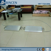 Permanent portable dynamic balancing machine