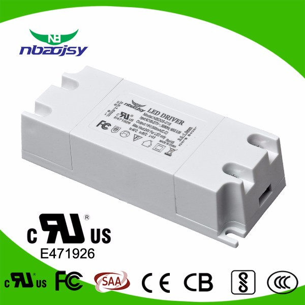 300ma 350ma ac/dc led driver output single for ceiling light with TUV CE SAA approved
