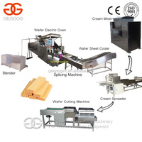 Electric/Gas Heating Wafer Biscuit Machine|Wafer Biscuit Maker