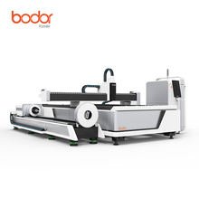hot sale large working area 1000W metal fiber laser cutting machines for carbon tube & sheet