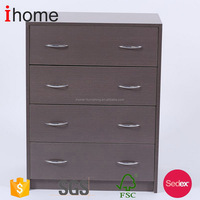 Newly design crazy selling mini furniture yellow chest of drawers